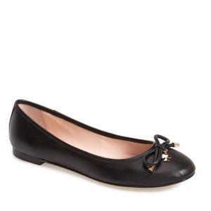Kate Spade Willa Skimmer Black Flats Size 9.5